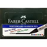 #10: Faber-Castell Whiteboard Marker - Black, Pack of 10