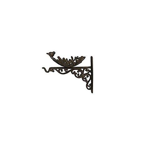 Nid D'oiseau Metal Avec Patere 18x21x25cm