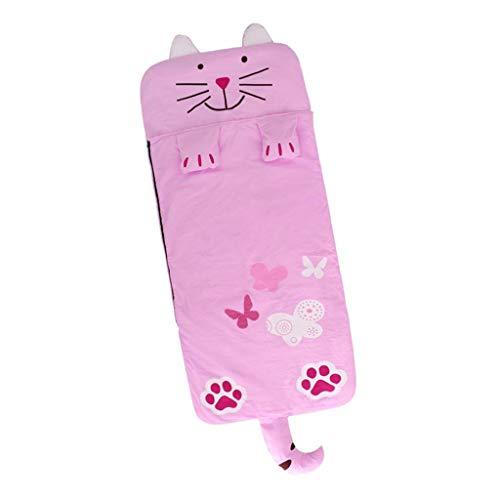 P PRETTYIA Multifunktions Mumienschlafsack für Kinder - Katze