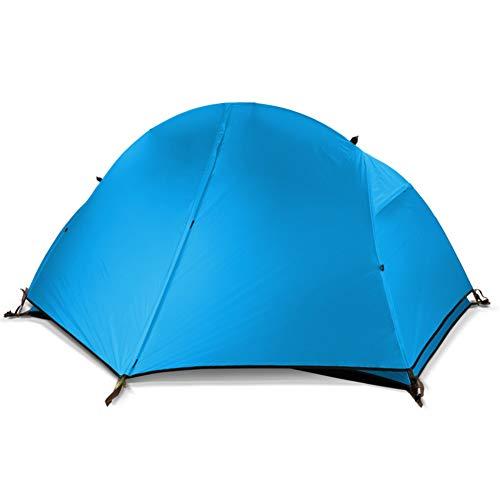 Ultraleichtes Camping Zelt,Tragbare Dome Zelt wasserdicht Sonne unterstände,Zum wandern,Angeln,Parks,Beach,Garten und Outdoor-aktivitäten.-Blau 205x135x105cm(81x53x41inch)