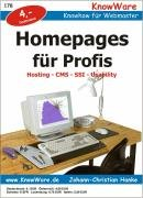 Homepages für Profis. Hosting, CMS, SSI, Usability