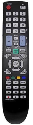allimity Sostituire il Telecomando BN59-00940A apto para Samsung TV BN59-00863A BN59-00901A BN5900940A LE32B530 PS42B450 PS50B450 TM950