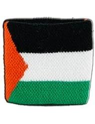 Digni® Poignet éponge avec drapeau Palestine, pack de 2