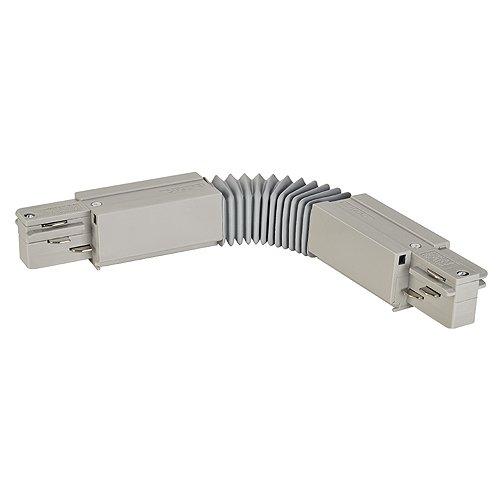 Slv eutrac - Conexion flexible plastico gris plata