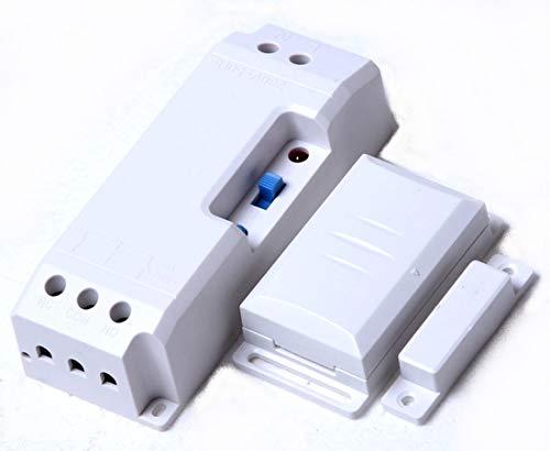 fenster funkschalter Funk-Abluftsteuerung EINBAU DAS-2090-E bis 2300W mit Fensterkontaktschalter DFM-1000. Lichtfunktion der Dunsthaube bleibt erhalten.