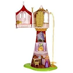 Toy / Game Disney Tangled Featuring Rapunzel Magical Tower Playset With Full Of Secrets And Surprise