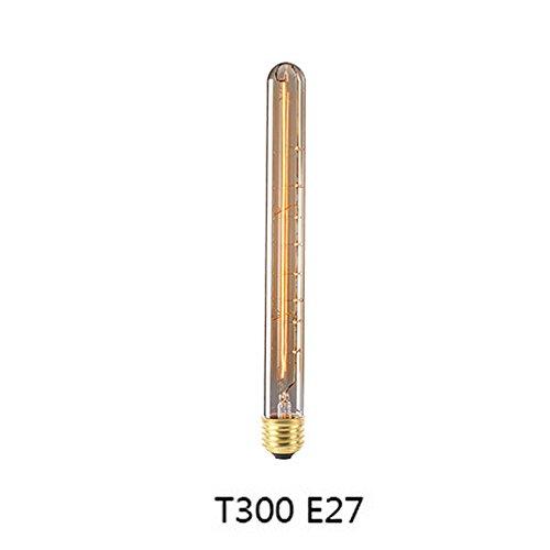 Edison Vintage Glühbirne Kleine Schraube Industrielle Retro E27 Kerzenlampen 40 Watt Dimmbar Wolfram Glühfaden Glühbirnen Warm (Kleine Charme-pins)