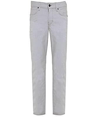 Hugo Boss Orange Men's Slim Fit Orange63 Jeans White