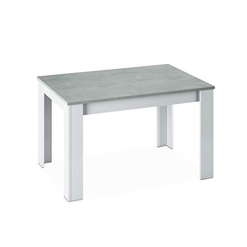 Habitdesign - Mesa de Comedor Extensible de 140 a 190 cm, Medidas: Cerrada 90 Ancho x 140/190 Largo 78 cm Altura
