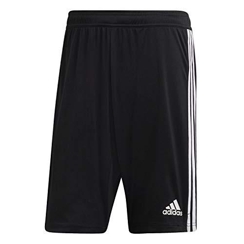 adidas Herren TIRO19 2in1 SHO Pants, Black/White 3XL