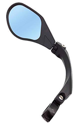 Hafny Lenker-Fahrradspiegel, HD, schlagfest, Glaslinse für Fahrzeugqualität (88 Linke Blau)