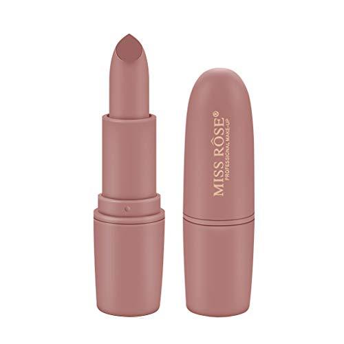 BOLANQ Miss Rose Ziegelroter Kugel-Lippenstift Aunt Color Mist Matt Lipstick Glaze - Banane Olivenöl