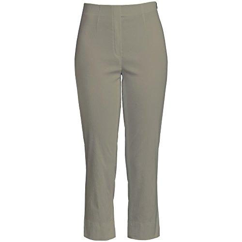 Oliven-capri-hosen (Robell Marie 07 Slim Fit Stretchhose Schlupfhose Damen Capri Hose #Marie 07 (34, Olive(86)))