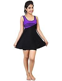 Carrel Women's Lycra Swimsuit (AGSPL-3077-SW-13)