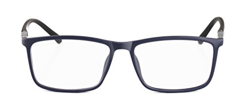 Men Fashion Non-prescription Eyeglasses Clear Lens Stylish Rectangle Eyewear Frame