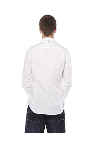 G Star RAW - Chemise G STAR Revend Pocket Blanc
