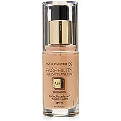 Max Factor, Base de maquillaje (tono 50 natural, piel sensible, tono de piel medio)