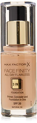 Max Factor, Base maquillaje tono 50 natural, piel