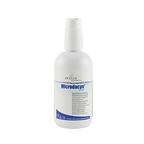 Microdacyn 60 Hydrogel 250g I Elektrolysiertes Hydrogel für Wundbehandlung I Gelspender