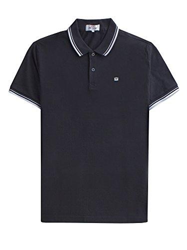 Ben Sherman Herren Regular Fit Poloshirt Romford Polo, Schwarz (Schwarz 290) (Black 290), X-Large