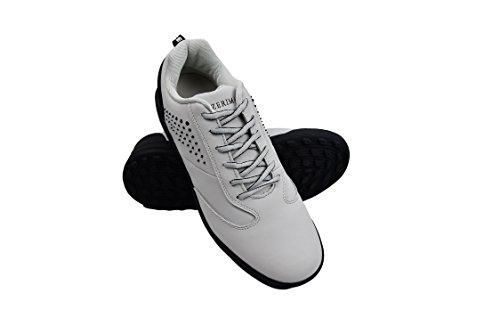 Zerimar Scarpe da Golf Fabbricati in Pelle Bovina Sport e Confortevole  Casual Running gris claro d8c2ab754bb