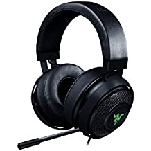Razer Kraken 7.1 Chroma V2Gaming USB Headset and 7.1 Surround Sound with 50 mm Drivers, Retractable Digital Microphone and Chroma Lighting, Black
