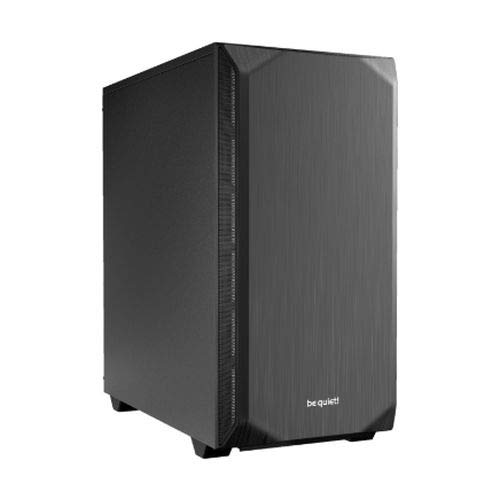 BEQAB be Quiet! Pure Base 500 Mid Tower Gaming-Gehäuse, USB 3.0, Schwarz