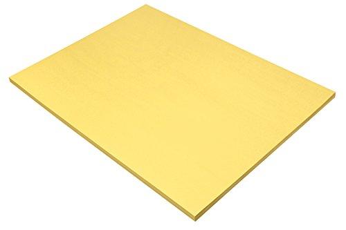 Pacon Sunworks Bau Papier, 45,7x 61cm Doppelklinge, gelb (8417)