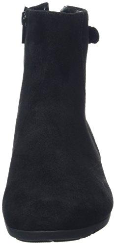 Gabor Damen Comfort Sport Stiefel Schwarz (27 Schwarz (Micro))
