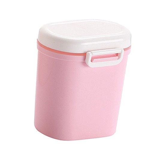 Milchpulver Behälter (Milchpulver-Spender, Formel-Milchpulver-Zufuhr, Tragbarer Baby-Milchpulver-Behälter BPA freie Nahrungsmittelspeicherung, Süßigkeit-Frucht-Kasten, Snack-Behälter, für Säuglingskleinkind-Kinderreise)