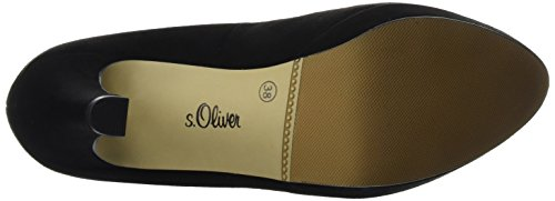 s.Oliver 22400, Escarpins Femme Noir (BLACK 001)