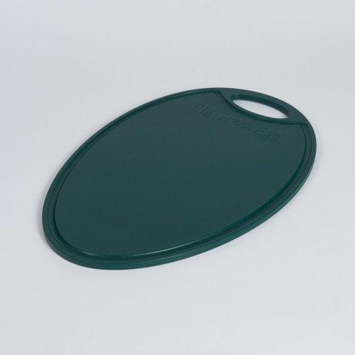 Big Green Egg Schneidbrett oval. Kunststoff / ROCB