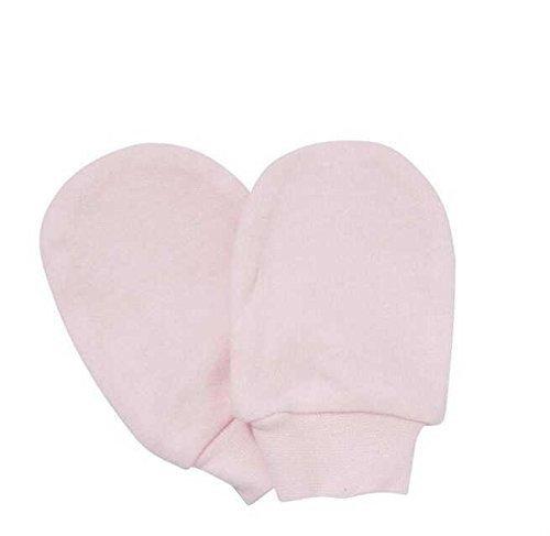 Kratzfäustlinge rosa für Neugeborene - Kratzfäustel, Neugeborenenhandschuhe