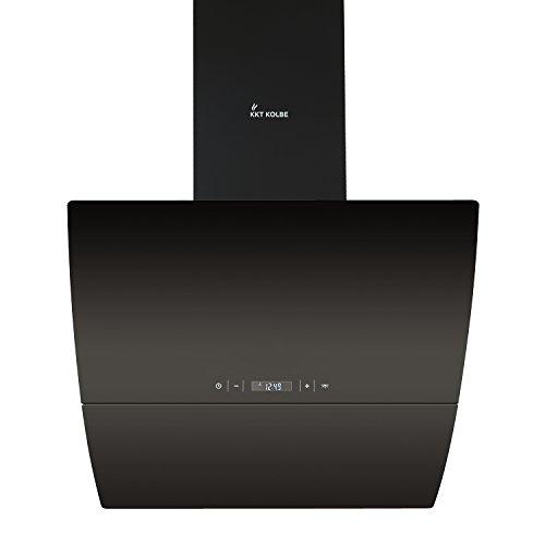 KKT KOLBE CURVE606S Wand-Dunstabzugshaube / 60 cm, kopffrei / SensorTouch / Uhr / leise / Fernbedienung / LED-Beleuchtung / Nachlauf