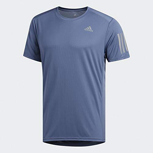 adidas Herren Own The Run T-Shirt, Tech Ink, M -