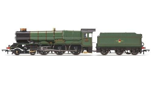 Hornby r3409 BR 4 - 6-0 King William IV 6000 Clase Late BR Tren Modelo Set