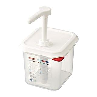 Araven CR820 Sauce Dispenser GN 1/6, 2.6 L, Transparent