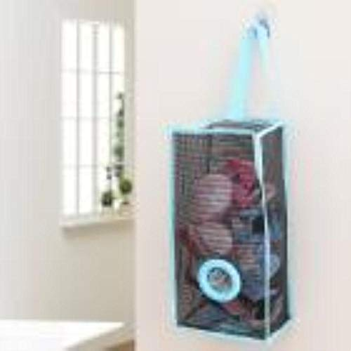 LIMMC Hängender Organisator Breathable Ineinander greifen-Küchen-Abfall-Beutel-Speicher-Verpackungs-Beutel u70717, blau