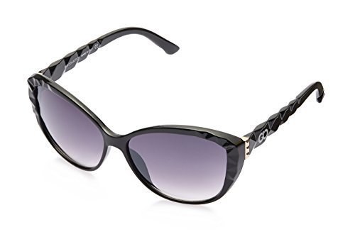 Gio Collection Oversized Sunglasses (Black) (BH 2189 CAT 03)