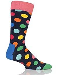 Hommes et Dames 1 paire Happy Socks Big Dot coton peigné Chaussettes