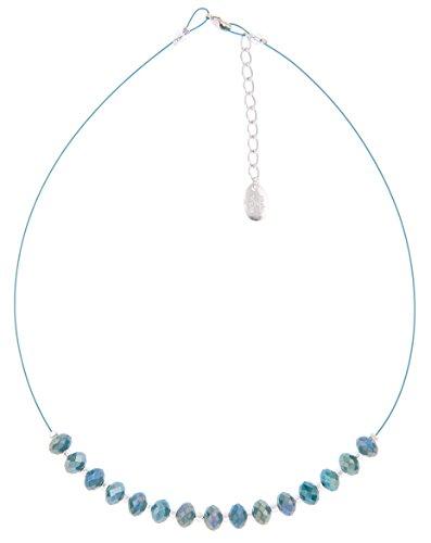 Carrie Elspeth Ultramarine Sparkle Halskette & Ohrring Set
