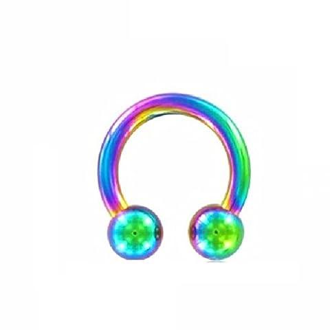 Color Titanium - CBR Circular Barbell 1,6 mm 8 mm 4 mm