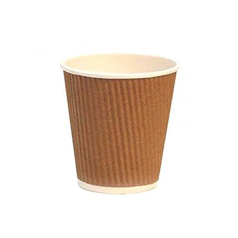 PZ 200Gobelet en Papier ml 250thermique pour cappuccino chocolat Caffe