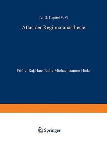 Atlas der Regionalan????sthesie: Teillieferung 2: Folienbilder 29-42 (German Edition) by P. Prithri Raj (2013-08-09)
