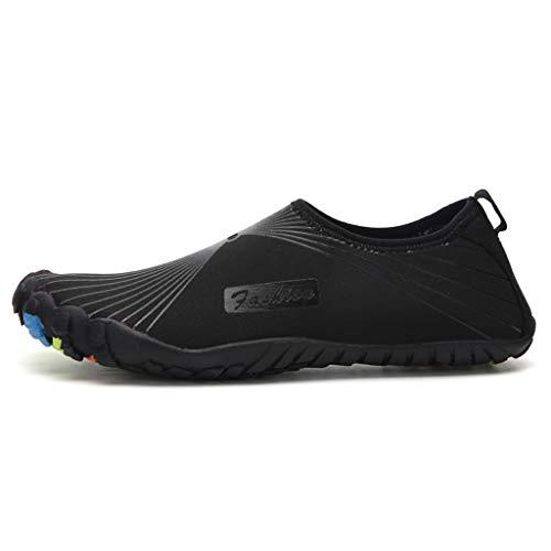 CLOOM Scarpe da Uomo, Water Shoes Scarpe da Immersione Uomo, Scarpe da Immersione Uomo Donna Scarpette Adatte per Mare e Sport Acquatici Bagno