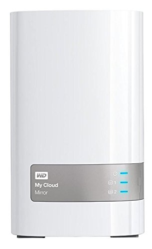 Preisvergleich Produktbild Western Digital 4TB (2x2TB) My Cloud Mirror Gen 2,  NAS 2 Bay,  Persönlicher Cloud Speicher,  Media Server,  Backup,  Handy und Tablet Sicherung,  Syncronisations Software