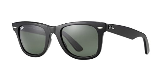 Ray-Ban MOD. 2140 Sun Occhiali da Sole, Unisex Adulto, Nero, 50 mm