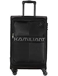 Kamiliant by American Tourister Kam Oromo Polyester 69 cms Black Softsided Check-in Luggage (KAM Oromo SP 69 cm - Black)
