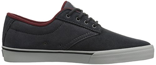 Etnies Jameson Vulc - Chaussures de Skateboard homme Grey (Dark Grey/Grey/Red064)