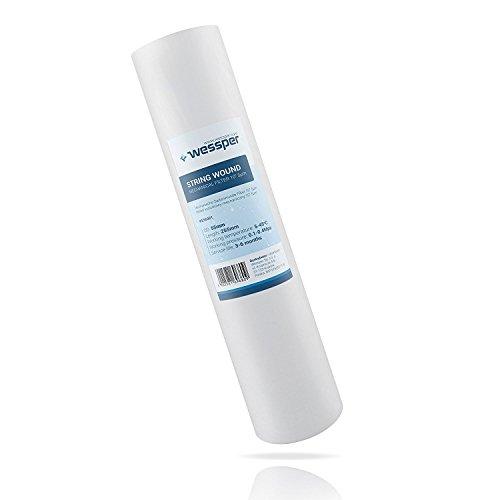"""10"""" ZOLL Sediment BLOCKFILTER POLYPROPYLEN FEINHEIT 5µ , Wasserfilter Kartusche Filterkartusche für Osmoseanlage"""